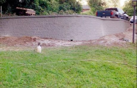 Retaining Wall in St Louis